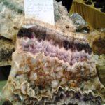 Améthyste, quartz violet, elle est connue depuis l'antiquité - Écomusée du pays d'Auzon
